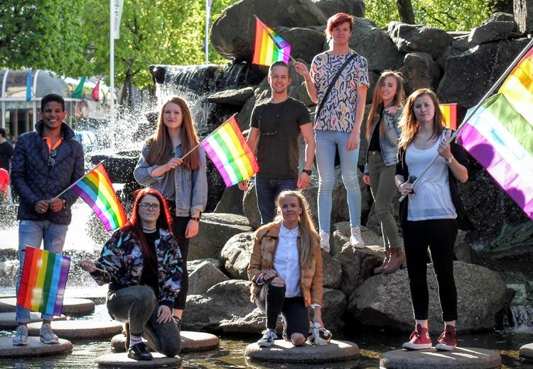 svenske jenter sognsvann homofile