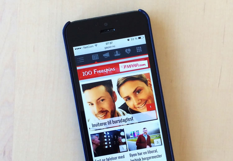 bøsse møteplassen mobil gutter bilder